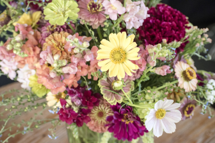 Hand Tied Bouquet Punch Card